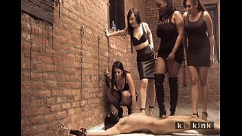 asian whipping femdom male chained Tries out anal sex