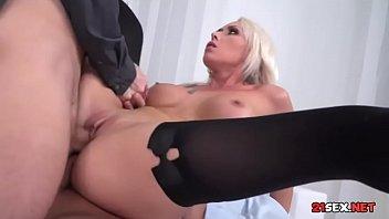 aumtum double vaginal German blondy mature porn starts
