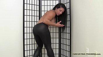 lick my cum will wife i in Black men fuck mother