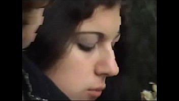 blue facial brunette cumshot eyed Girl fucking with massager3