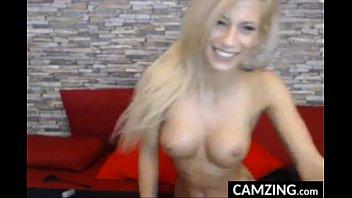 hot sexy body blonde her babe beautiful striping Strapon mistress ezada