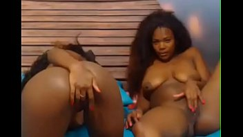 black by lesbian busty dildo sistersfucked horny eats Openup pussy with black monster