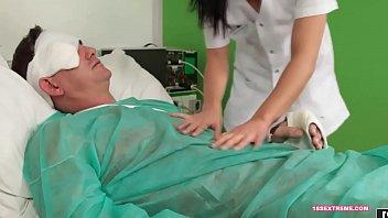 nurse helps dani patient6 Italian huge cock