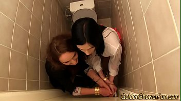 to lesbians pee made Library girl masterbating