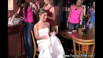 veil bride with Accidental creampie french amateur