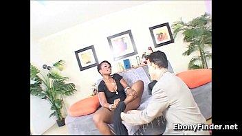 big black bootie Cuckold foot job
