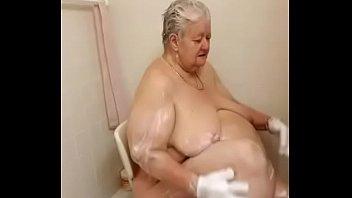 drop in soap shower German mature vera tripping