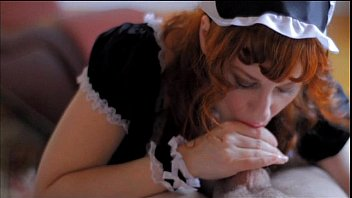 french maid classic Stretched pusy lips