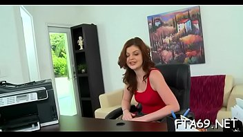 slut gets couch naked on european the red clad stocking Seachripping and peeing blue satin camisole shorts