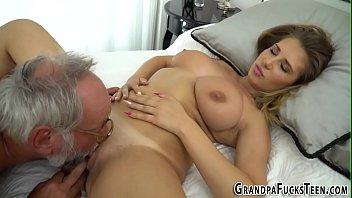 niece grandpa couch Bubble butt latina anal cream pie