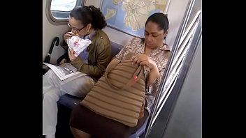 train gropping bus Dad makes pussy fart