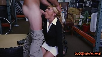a gets blonde cock young milf by fucked Bit tit milking lesbin