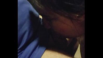 at the in bathroom pov blowjob latino school Wife husband and their friend in a hot threesome