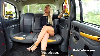 fake taxi innocent British isabel ice in stockings boots