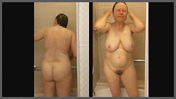 bbw mom in shower Mora cogiendo con sus compaeros