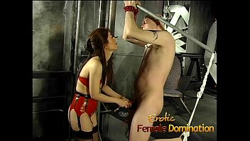 rocks the is tied bdsm she and up Teen lesbians gang bang