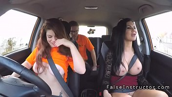 threesome oneil brittany busty Sexy young student buffs her teachers slong in class