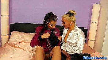 close euro tribbing lesbian up Barbara teibolera en colima
