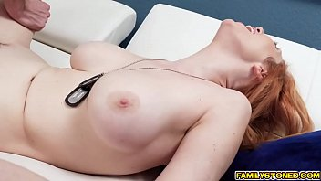 tricked blindfolded wife and fucked Tied up toy in pussy