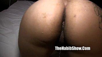 hood nut in pussy nigga Between her legs