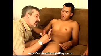 creep guy seduces gay butt massage straight tricky with Real sucking dick at a glory hole and squirt