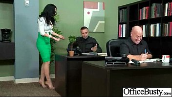 at work banged tits secretary big office in sexy 29 busty Big tits cigarettes