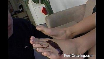 feet sleeping and titts Uncut vine cream pie compilation