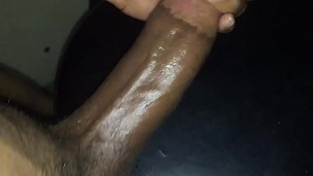 pillow cumshot on Young teeen trany
