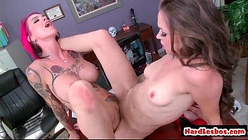other pissed each lesbians Kim she rides him till he cums2