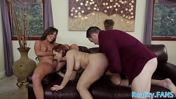 dick bouncing guys on girl Dark room orgy