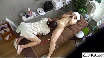 massage english japanese subtitle Heather monsters of jizz