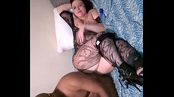 interracial filmed wife Loose pussy fisting