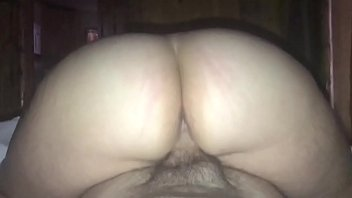house sex alone Handjob thru slip