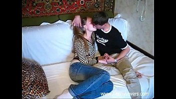 beg cock for big Handjob to old man by youn