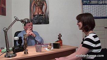 blonde pretty using amateur dildo her Older wife sunbathing in panties10