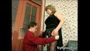 russian spanking by mature brach Guys take turns to cum in his wife