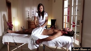 part massage 6 amazing Son fuck to his aunt whin she sleep