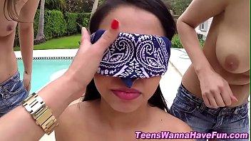wcp stunning club teens ebony lesbian Staciee starr boss