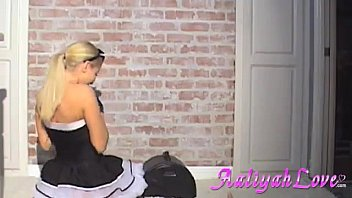 classic french maid Mature gyno stockings