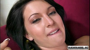 cock inch mouth cum in Chocolate sorority sistas scene 7
