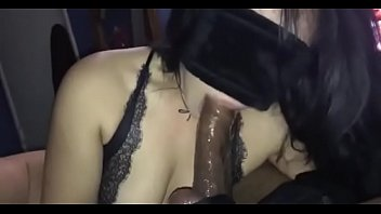 fucked dick an black Your daughter gives you a hot pov handjob and blowjob