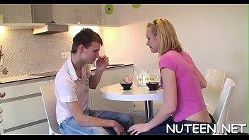 kiss naruto fuuka Milf instructs teens how to handle an erect pecker5
