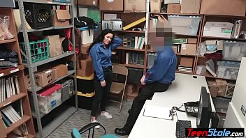 boss with office my at Ebony shemale gangbang my racist men