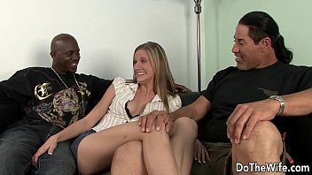 wife blow black couger young Woman makes him cum in her pussy multiple times