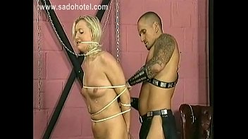 hanging slaves rope from fucked getting Indean free bath video