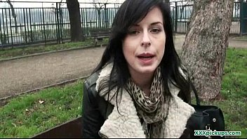 in clip04 outddor sexy and public exposing babes fucking asses Busty blonde bombshell bent doggy style and fucked