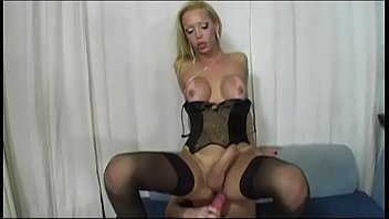cbt tranny cockring stretcher Lela star squirt solo