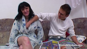 and show uncensored game creampie mother japanese son Drain his cock