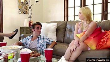 schneider young lenny Naughty latina enjoys suking dick