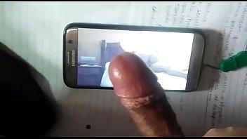 mujeres videos colochas porno de Lesbian licked striped socks